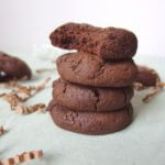 Vegan Chocolate Cookies {lightened up}