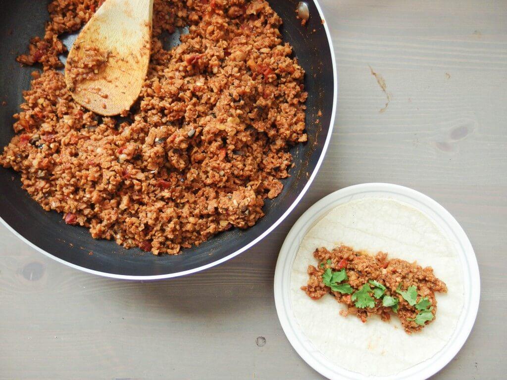Homemade Soyrizo (Vegan Soy Chorizo) - Recipe by Yup, it's Vegan