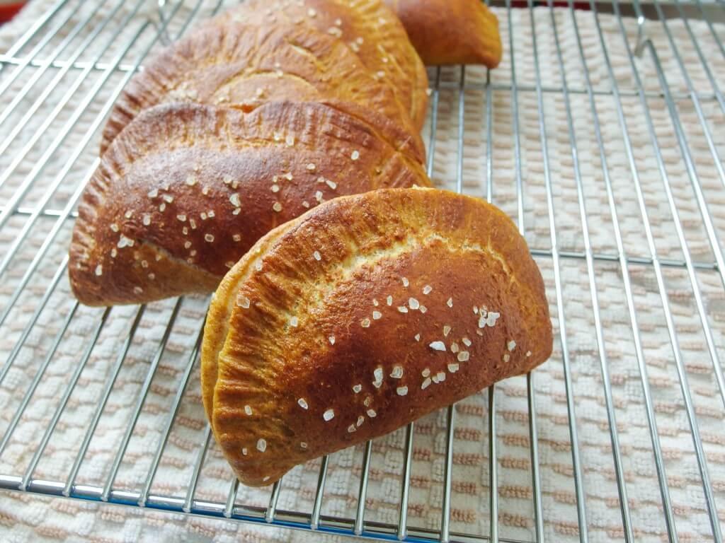 Baked Pretzel Empanadas - Yup, it's Vegan