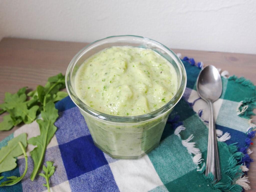 Light Green Monster Smoothie - Yup, it's Vegan