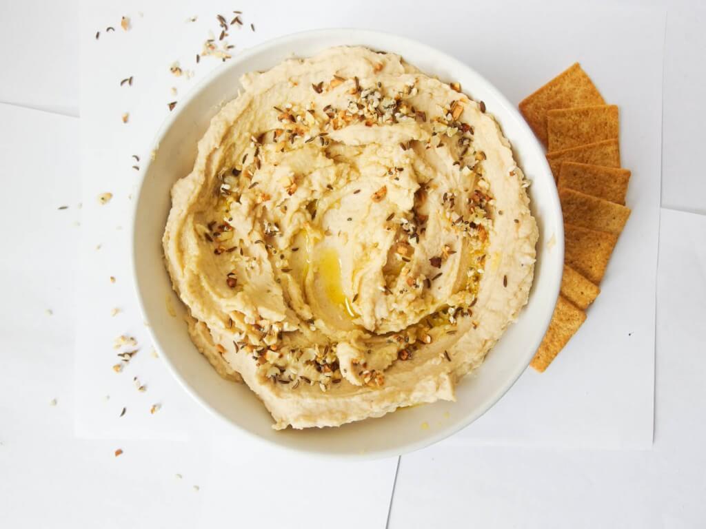 Everything Hummus - Yup, it's Vegan