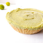 Avocado Key Lime Tarts with Coconut Graham Cracker Crust