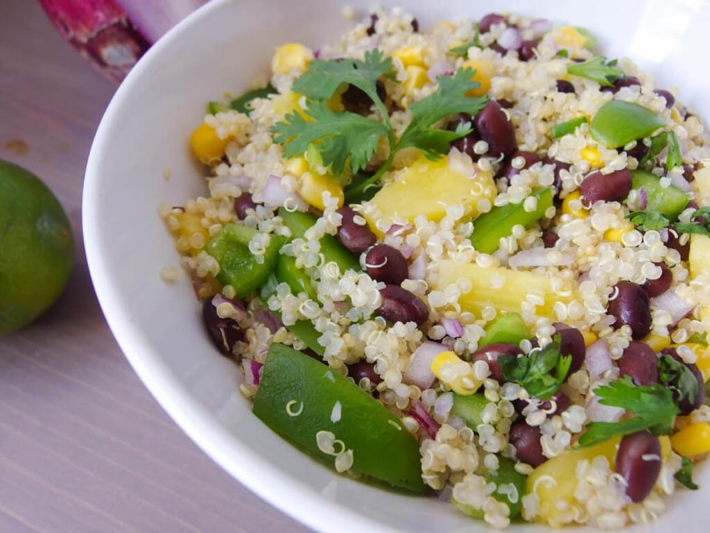 Southwestern Quinoa Salad with Cilantro-Lime Dressing - Yup, it's ...