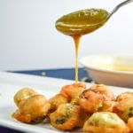 Beer-battered Brussels Sprouts