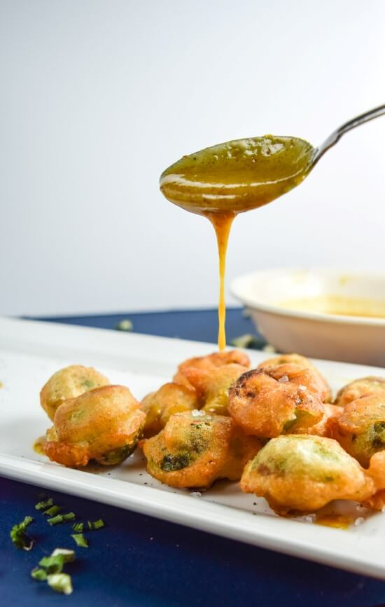 -battered Brussels Sprouts | yupitsvegan.com. Crispy Brussels sprouts ...