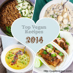 Top Vegan Recipes of 2014