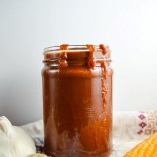 Sriracha and Roasted Garlic BBQ Sauce