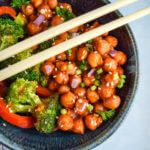 General Tso's Chickpeas, plus the other top 15 recipes of 2015 from Yup, it's Vegan!