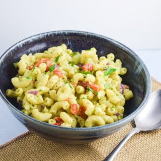 Avocado Macaroni Salad