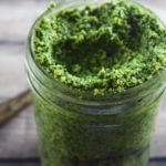 Kale, Garlic Scape and Walnut Pesto