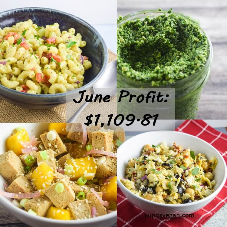 June 2016 Blog Income and Profit - Yup, it's Vegan