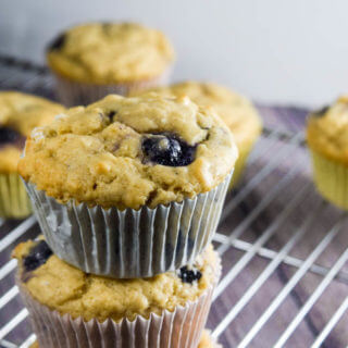 Lemon Blueberry Muffins (and a giveaway)