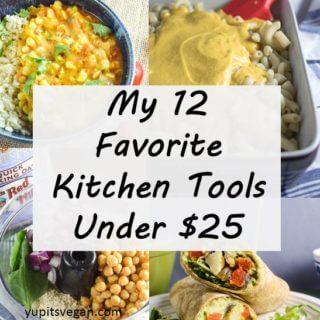 My 12 Favorite Kitchen Items Under $25