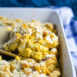 My Ultimate Vegan Baked Mac and Cheese