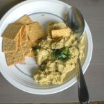 Summer's Bounty: Charred Jalapeno Lemon Hummus