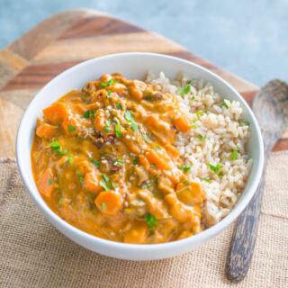 West African Peanut Soup | Yup, it's Vegan