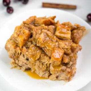 Vegan Bread Pudding | Yup, it's Vegan