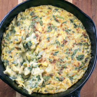 Vegan Spinach Artichoke Dip | Yup, it's Vegan