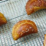 Baked Pretzel Empanadas