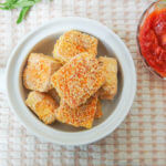 Baked Sweet & Sour Pineapple Sriracha Tofu Nuggets