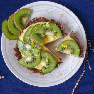 Sugar-free Tropical Raw Mango Tarts