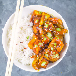 Sweet and Sour Tofu | Yup, it's Vegan