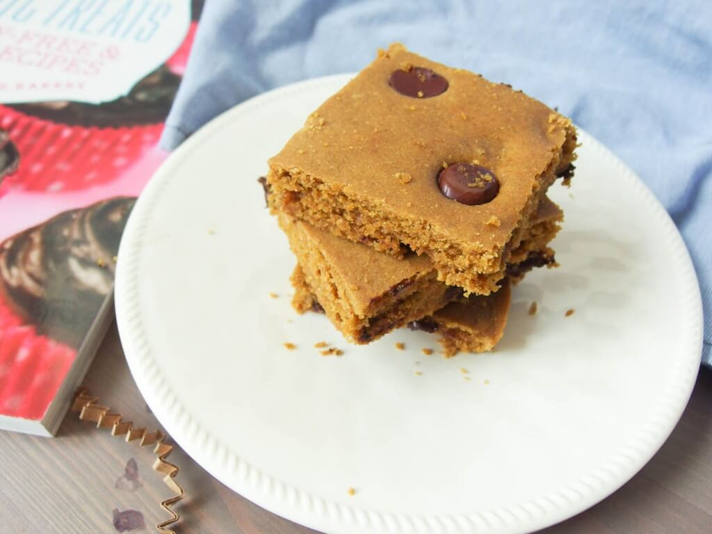 Blondies with Roots and a Sweet Debbie'sOrganic Treats giveaway - Yup, it's Vegan