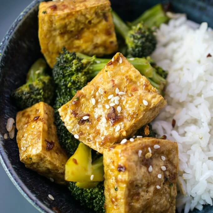Tofu Bulgogi | Yup, it's Vegan