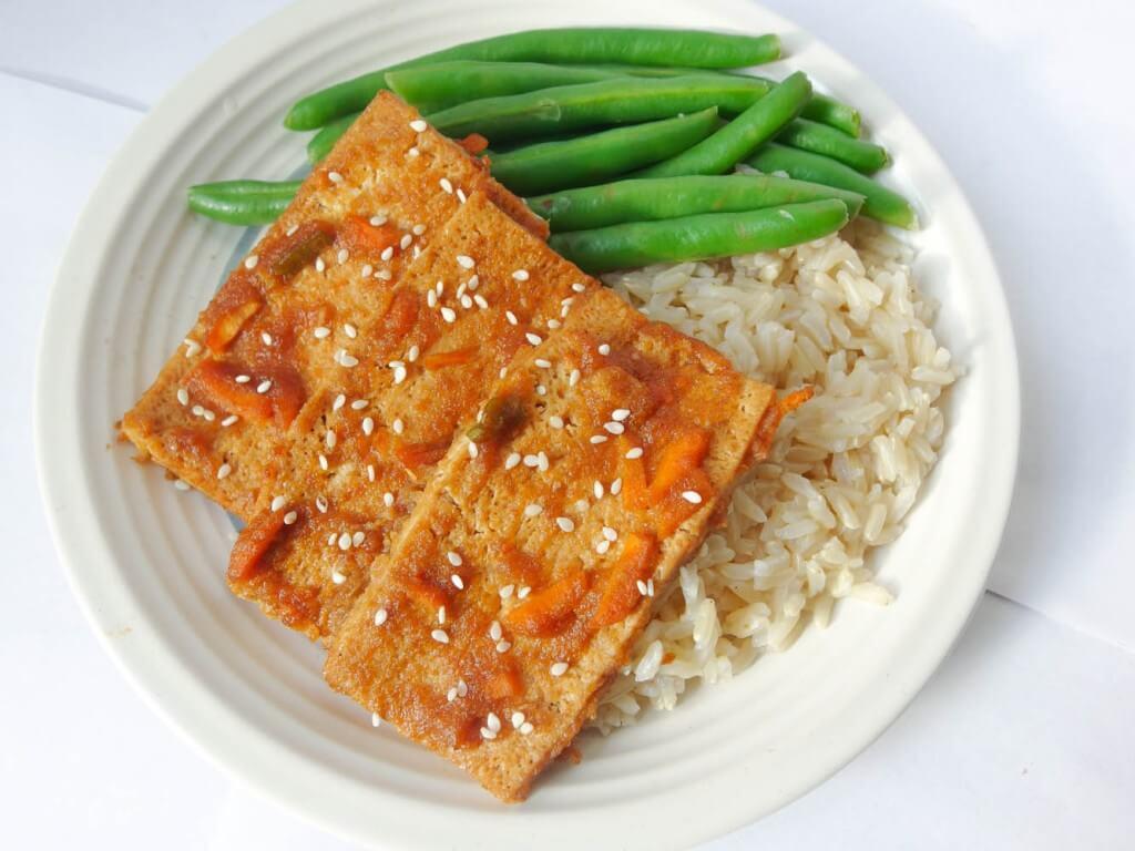 Tofu Bulgogi (Baked) - Yup, it's Vegan