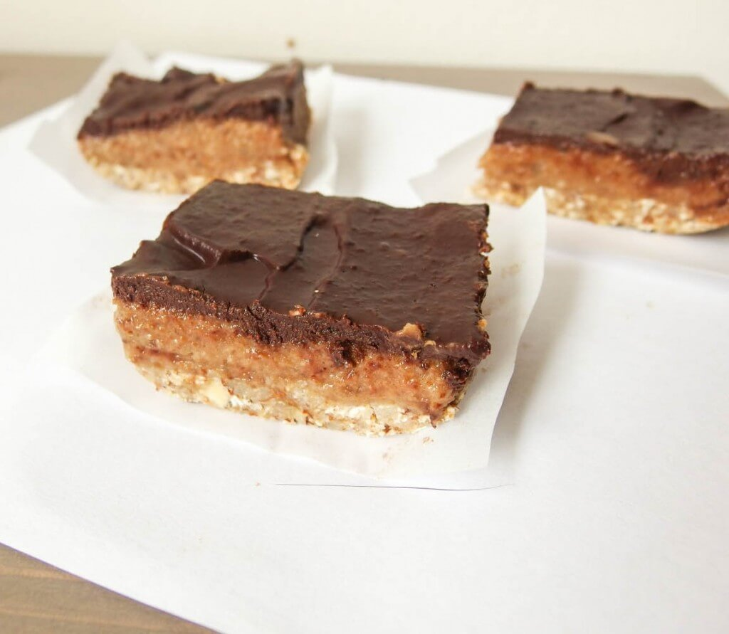Date Caramel Mocha Bars - Yup, it's Vegan