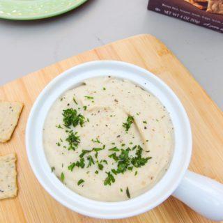 Garlic Habanero White Bean Dip