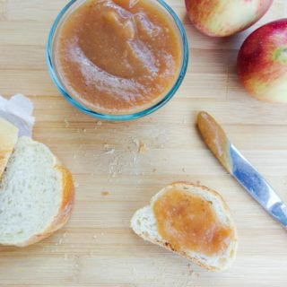 Salted Date Caramel Apple Butter (in the Slow Cooker)