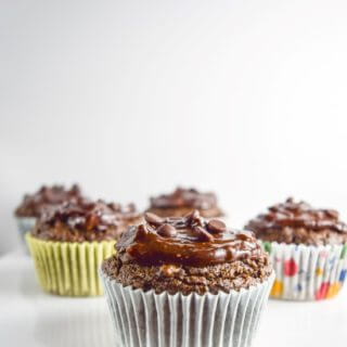 Avocado Chocolate Cupcakes