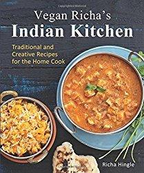 Vegan Richa's Indian Kitchen Cookbook Cover