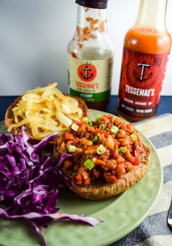 Chickpea Sloppy Joes, plus the other top 15 recipes of 2015 from Yup, it's Vegan!