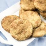Classic Vegan Snickerdoodles | Yup, it's Vegan