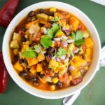 Sweet Potato Tortilla Soup | Yup, it's Vegan
