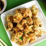 Thai Peanut Cauliflower Wings