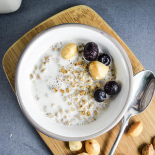 Toasted Macadamia Nut Milk