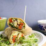 Roasted Vegetable and Avocado Garden Wraps