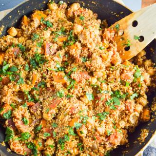 One Pot Tandoori Quinoa