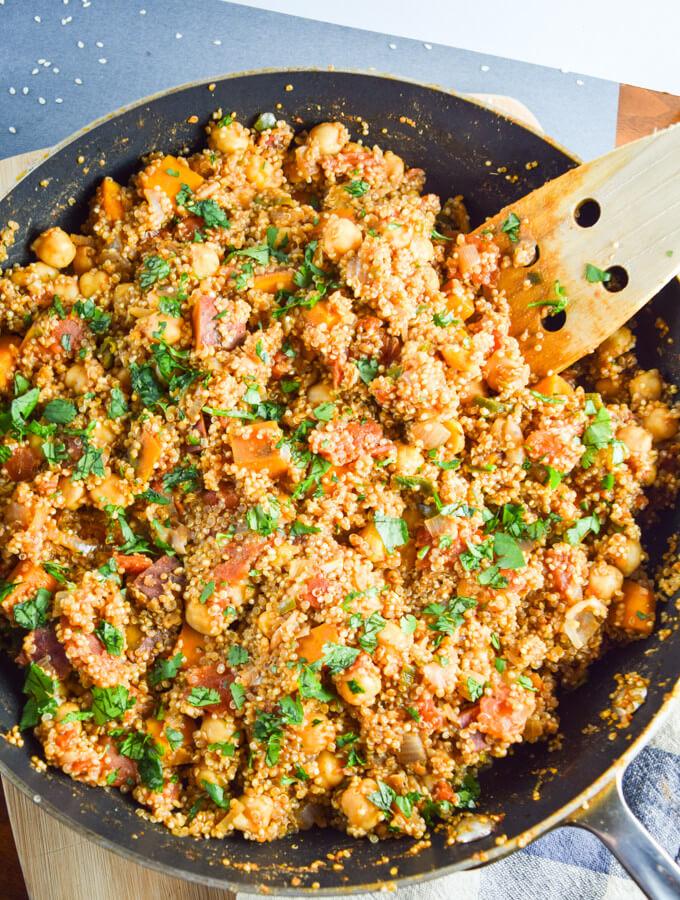 One Pot Tandoori Quinoa | Yup, it's Vegan