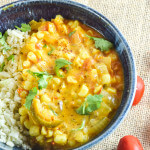 Sweet Corn Curry | Yup, it's Vegan