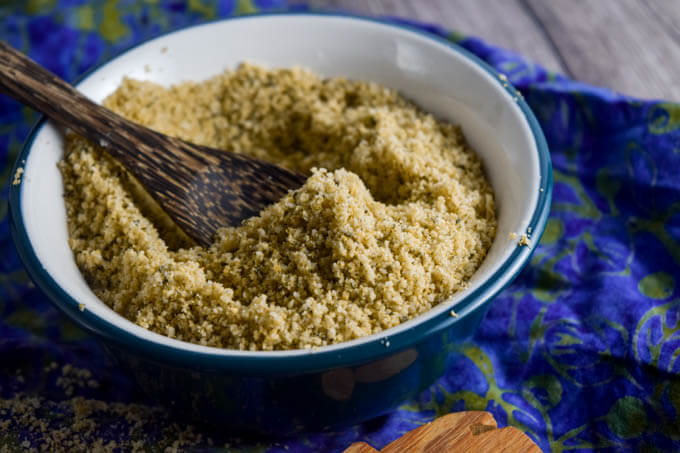 Vegan Hemp Parmesan (Nut-free) | yupitsvegan.com
