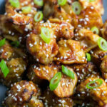 Sticky Sesame Cauliflower (Baked)