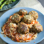 Spaghetti and Lentil Balls | Yup, it's Vegan
