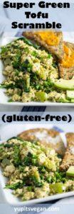 Green Tofu Scramble   Yup, it's Vegan