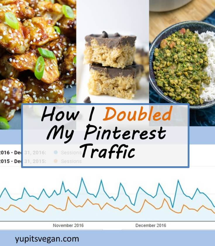 How I Doubled My Pinterest Traffic: The tricks that helped me get more referrals from Pinterest by doing LESS work!
