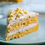 Vegan Sweet Potato Cake with Toasted Walnut Cream Cheese Frosting
