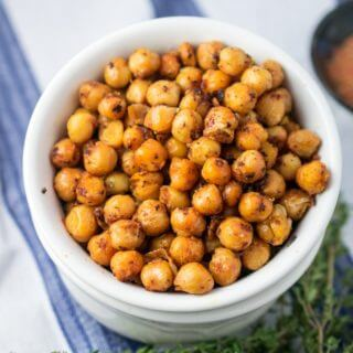 Blackened Chickpeas